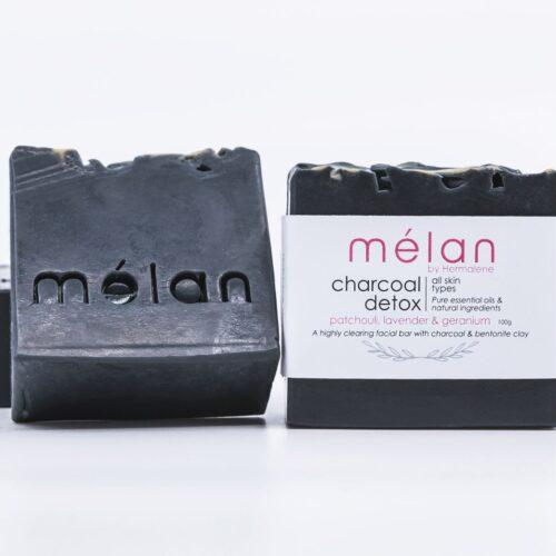 charcoal detox bar melan skincare