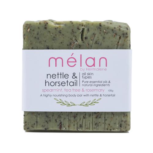 Nettle & horsetail bar melan skincare soap