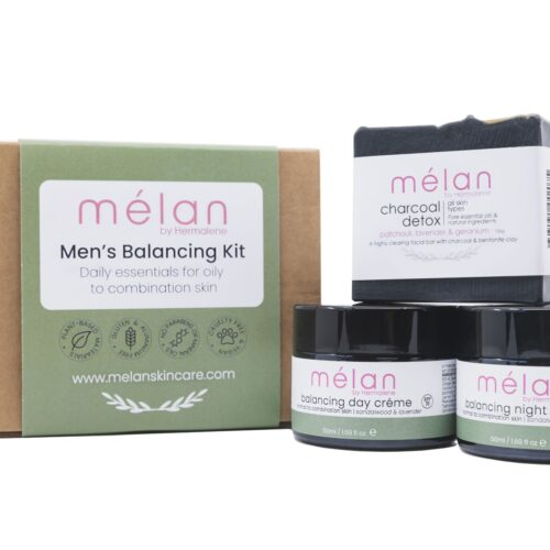 men skincare oily combination skin natural plant based cape town south africa